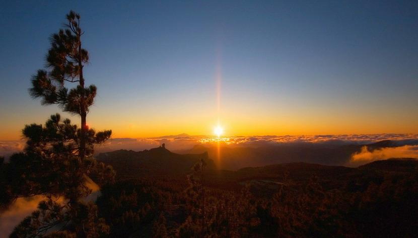 Pico de Las Nieves a Gran Canaria