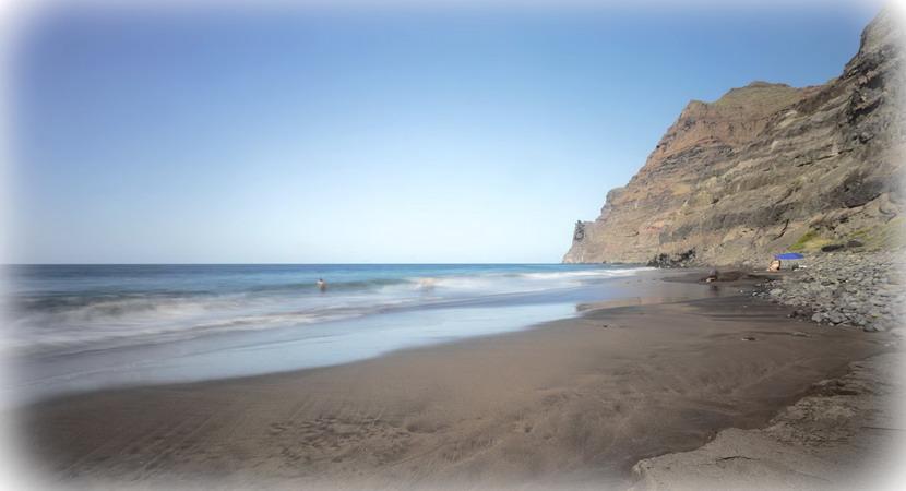 Spiaggia selvaggia di Guigui a Gran Canaria